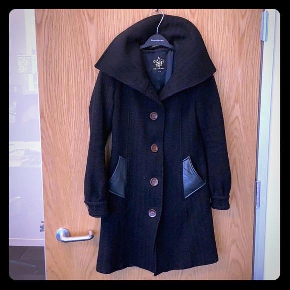 Mackage Jackets & Blazers - Very cute black Mackage wool coat-small